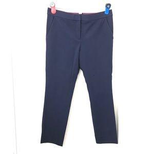 """Diane Von Furstenberg Navy Blue Work Pants 28"""""""
